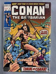 Marvel Comics CONAN BARBARIAN Volume #1 DM Omnibus BWS Cvr (2020) Global Ship