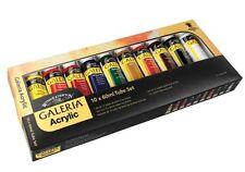 Winsor & Newton Galeria Acrylic 10 x 60ml Tube Artists Paint Set