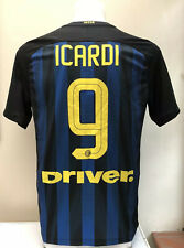 Inter Milan Home Football Shirt Jersey ICARDI 9 Medium M 2016 2017 Nike Adults