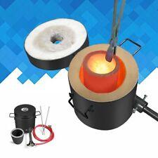 6KG Propane Melting Furnace Gas Copper Gold Smalter Graphite Crucible Home Use