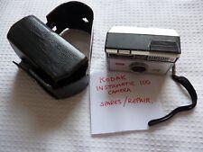 KODAK 100 instamatic caméra-avec étui-Made in FRA 'd-Utilise 126 film-Pièces de Rechange/Réparations