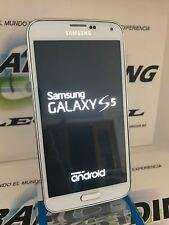 SAMSUNG GALAXY S5 G901F LTE-A 4G+ LTE BLANCO LIBRE  USADO GRADO A+ IMPECABLE