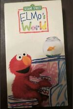 123 ~ SESAME STREET ~ ELMO'S WORLD ~ VHS, 2000 ~ RARE Collectible
