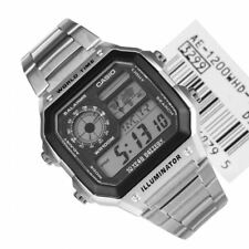 Casio AE-1200WHD-1A AE-1200WHD-1AVDF Quartz WR100M Digital World Time Male Watch