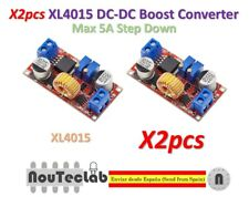 2pcs 5A Max XL4015 DC to DC CC CV Step-Down Lithium Battery Charger Converter