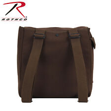 Rothco 2272 Heavyweight Canvas Musette Bag - Earth Brown