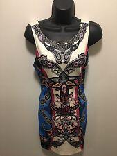 Forever 21 Women's Small Full Zip Body Form Dress             (A2)