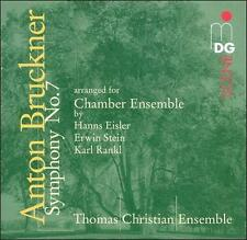 Bruckner: Symphony No. 7 (Arranged for Chamber Ensemble) (CD, Mar-2005, MDG)
