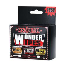 Ernie Ball Wonder Wipes Combo Pack, 6 pack, P04279