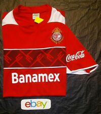 NEW NWT ! Men sz L Banamex mexico pumas coca cola corona Soccer Football jersey