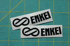 (2x) Enkei Wheel Stickers Replacement Decal Rim RPF1 PF01 GTC01 - SET OF 2!