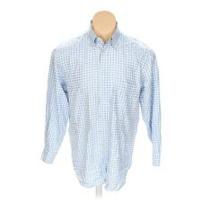 Mens PAUL & SHARK YACHTING Blue Plaid Button Down Shirt sz Large L N21