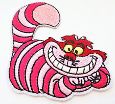 Disney ALICE in WONDERLAND Cheshire Cat Embroidered Iron On/Sew On Patch