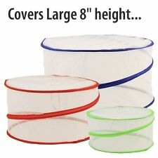 Collapsible Pop-Up Mesh Food Covers Set & Inflatable Picnic Buffet Cooler Set