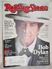 ROLLING STONE MAGAZINE SEPTEMBER 27 2012 DYLAN ROLLING STONES MADONNA GREEN DAY