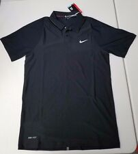 Nike Tiger Woods VL MAX Hypercool Polo Black 726205-010 Retail $115 Size S
