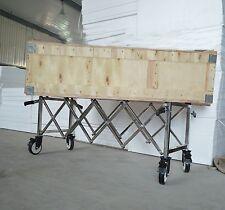 Church Truck Funeral Stretcher Truck Casket Stand Cart Mortuary & National Flag