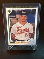 1991 Upper Deck Mike Mussina RC Baltimore Orioles  New York Yankees Rookie HOF