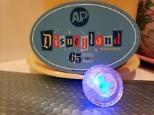 65th Anniversary Disneyland AP Magnet and Mickey Sapphire Light Up Glow Cube