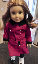 American Girl Doll Retired Rebecca Rubin with clothes and accessories