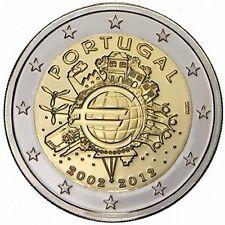 Portogallo 2€ 2012 10 anni Tye FDC