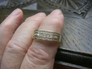 Diamant/Brillant-Ring 0,50 ct  aus 14kt 585 Gold mit  Diamant lupenrein
