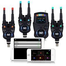 New Direction Tackle Bluetooth Funk Bissanzeiger Set K9 R9 3+1 zum Karpfenangeln