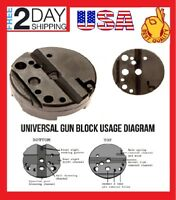 Universal Firearm Durable Bench Gun Block Gunsmith Wheeler Gunsmithing Tools USA