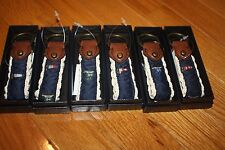 Brand New POLO Ralph Lauren Unisex Flag Key Fob w/ Gift Box SHIP FAST