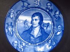 "Vintage Royal Doulton Transferware Robert Burns Portrait Plate 10 1/2"""