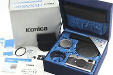 【 Unused in Box 】 Konica Hexar RF Limited Rangefinder + 50mm F/1.2 Japan #263