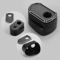 Black Ignition Switch Cover for Harley Touring FLHX FLHT FLTR FLHTCUTG 14-17