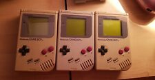 3x Original nintendo gameboy In Travel Case With Games And Magnifier