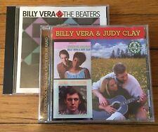Billy Vera 2xCD LOT: By Request, Billy Vera & Judy Clay Storybook Children & Wit