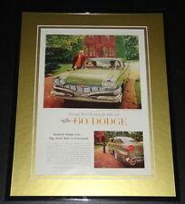 1960 Dodge 11x14 Framed ORIGINAL Vintage Advertisement