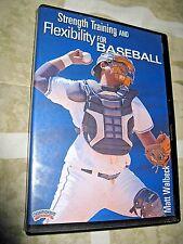 Matt Walbeck: Strength training and Flexibility for Baseball DVD (Collector's)