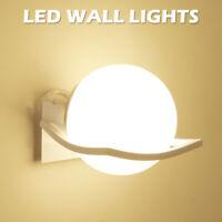 E27 Applique LED 220 V Faro Faretto Lampada Da Parete Muro Applique in vetro