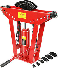 12 Ton Pipe Bender Manual Hydraulic Piping Bending 12 In Tube Exhaust Tools