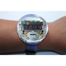 Electronic Crystal Table DIY Kits for SCM LED Watch Digital Watches