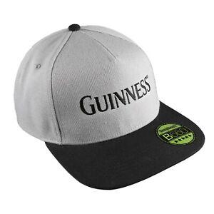Official Guinness Mens - Guinness Stencil - Cap - Grey/ Black