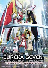 DVD Anime Koukyoushihen Eureka Seven: Hi-Evolution 1 The Movie English Subtitle