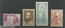 SG 691 1951 19th CENT OF ST. PAUL's TRAVELS IN GREECE MINT SET OF FOUR REF 1273