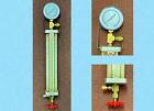 Refrigerant Charging Cylinder R12/R134a, 16oz. 450g Gemline, With Gauge, TESTED!