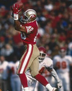 JERRY RICE 8X10 PHOTO SAN FRANCISCO FORTY NINERS 49ers PICTURE GAME ACTION