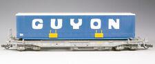 Roco 46374 Taschenwagen SNCF SEGI mit GUYON Wechselpritsche, Epoche IV