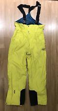 Tenson MPC Women's Ski Pants Size 40 Teal And Yellow Color Snow Pants