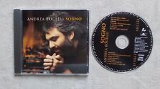 "CD AUDIO MUSIQUE / ANDREA BOCELLI ""SOGNO"" 14T CD ALBUM 1999 POP"