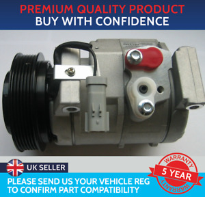 AIR CON COMPRESSOR PUMP TO FIT CHRYSLER VOYAGER GRAND VOYAGER 2.5 CRD 2.8 CRD