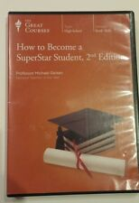 How to Become a Superstar Student 2nd Ed The Great Courses High School 3 DVD set