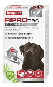 Beaphar FIPROtec COMBO Flea & Tick Spot On For large dogs 1 treatment